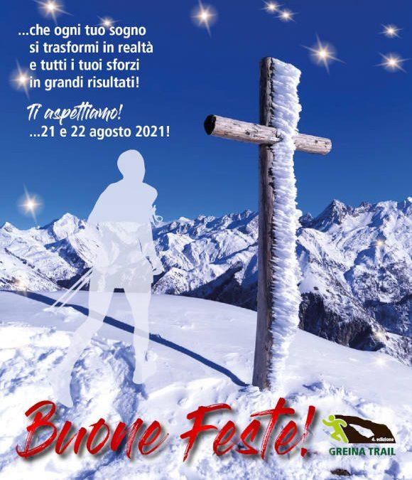Auguri di Buone Feste 2021 dal Team Greina Trail