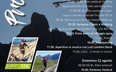 Programma 4a Edizione Greina Trail